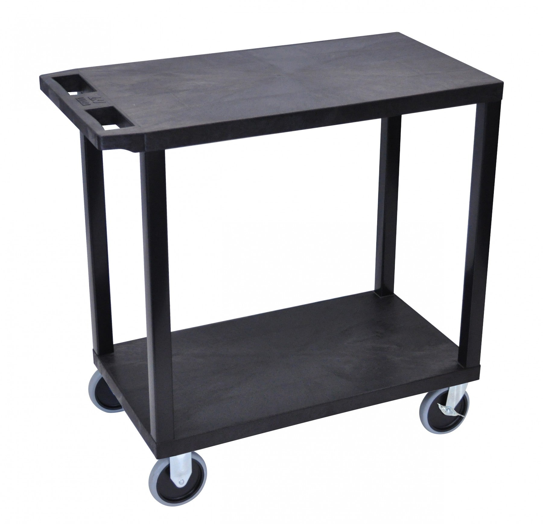 Luxor 2 Tier Cart, (2 Flat Tops) - International Tool Company
