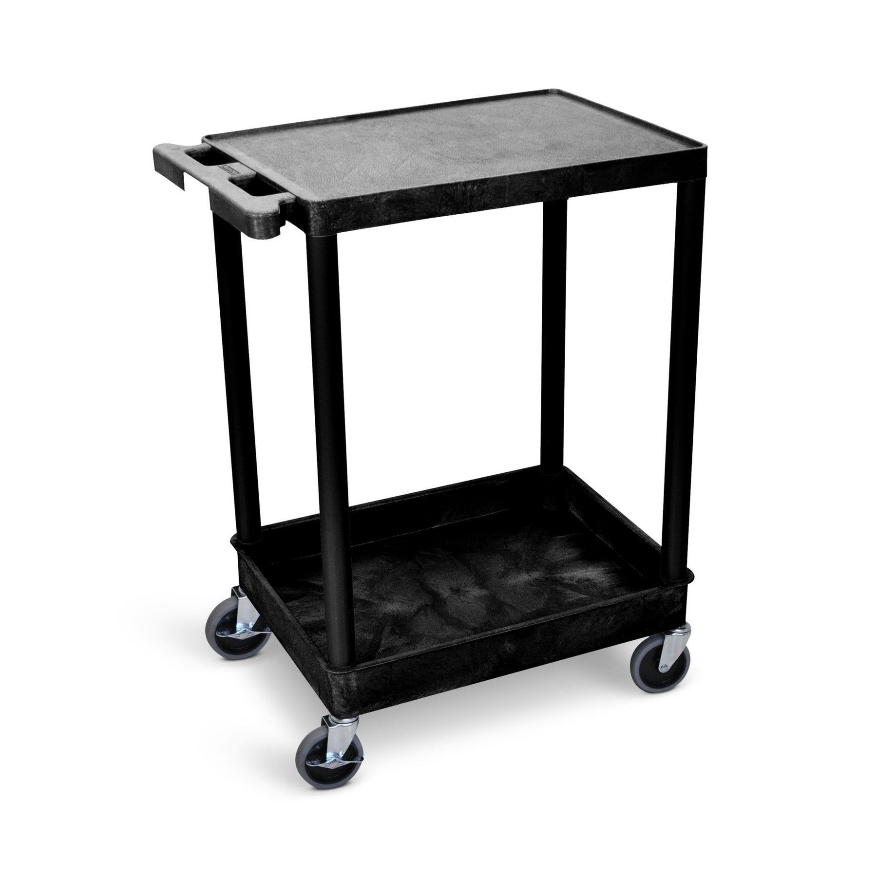 Flat-Top and Tub-Bottom Shelf Cart - International Tool Company