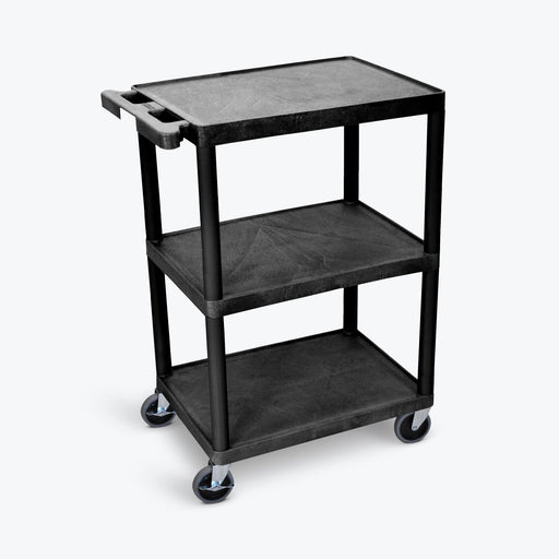 Flat-Shelf Cart - Three Shelves - International Tool Company