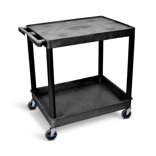 Large Flat-Top and Tub-Bottom Shelf Cart - International Tool Company