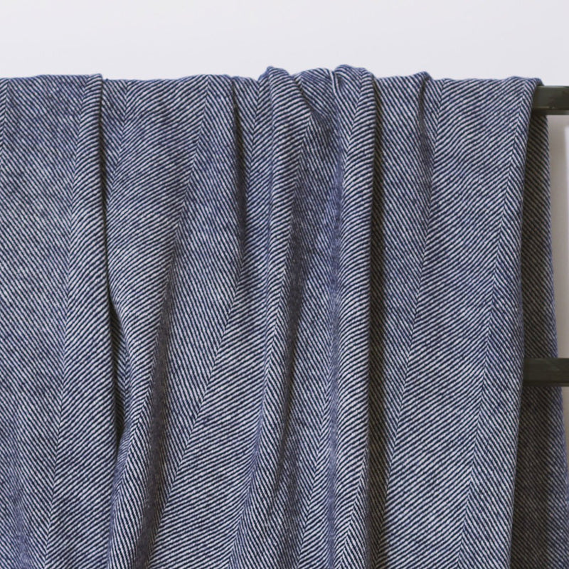 Herringbone wool blanket
