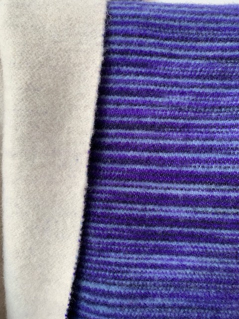 DOUBLESIDE I MERINO I purple-black-blue-gradient