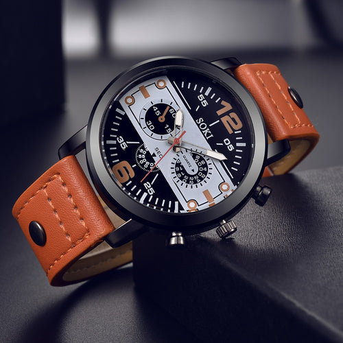 OTOKY Quartz Leather Watch