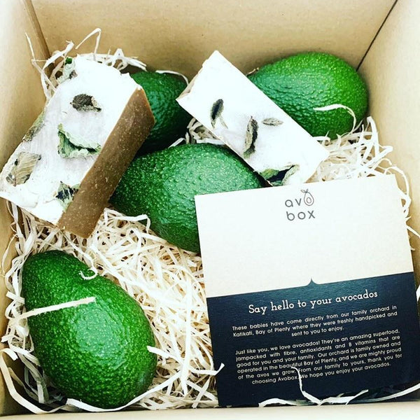 Avobox Christmas Collaboration giftbox- (8 Avobox with 2 Wash Soaps). Dispatched 21st December