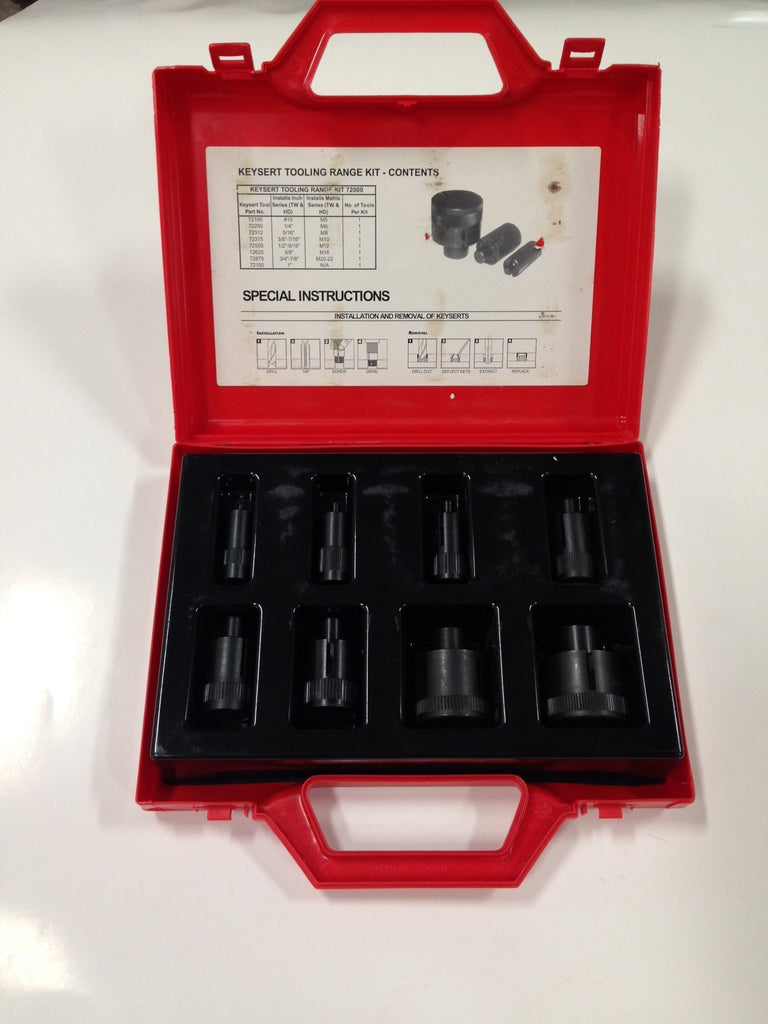 Keysert Inch & Metric Series Tooling Kit