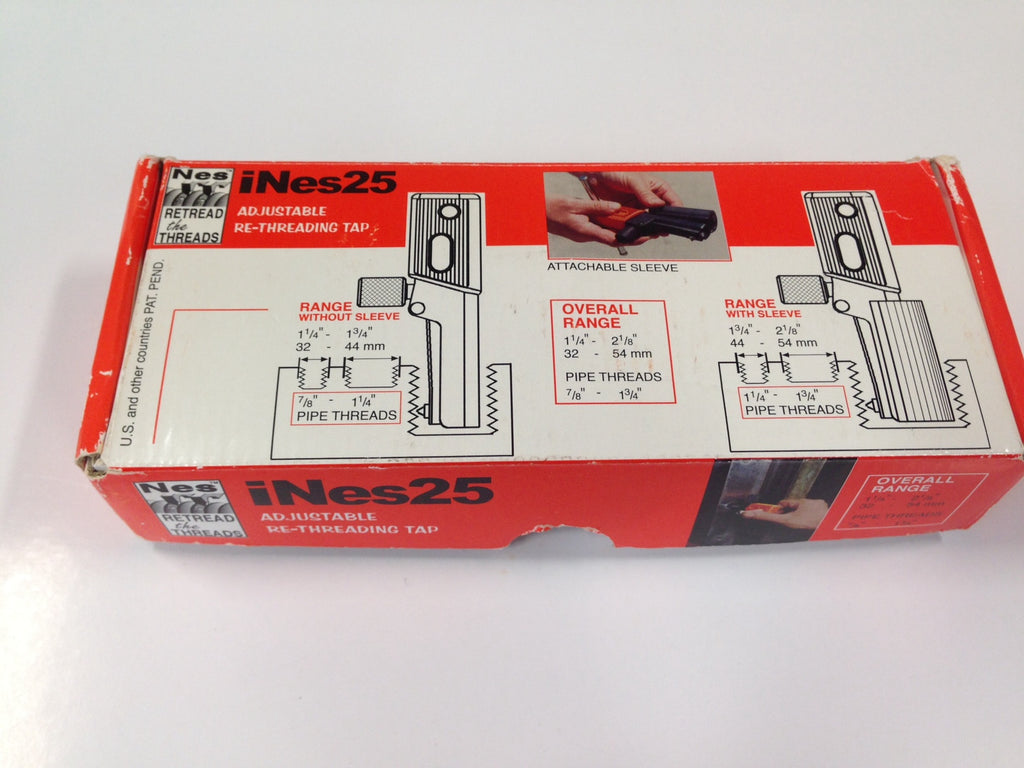 "NES25 Internal Rethreading Tool: 1.1/4""-2.1/8"" (32-54mm)"