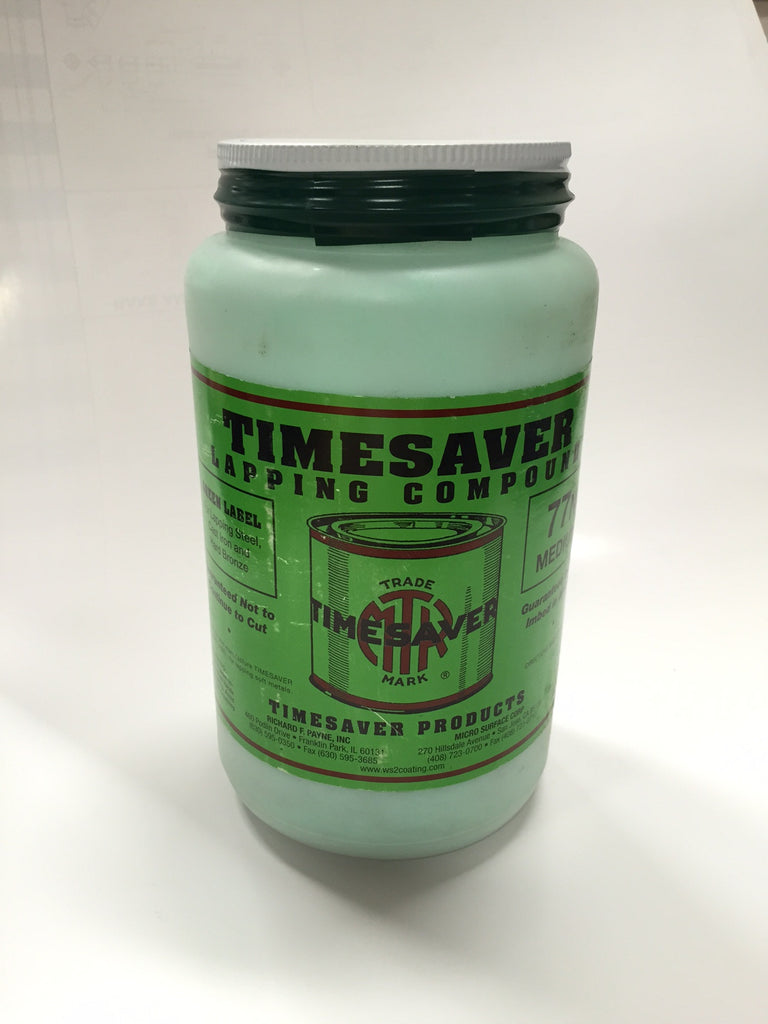 Timesaver  5 lb. Green Label  Lapping Compounds