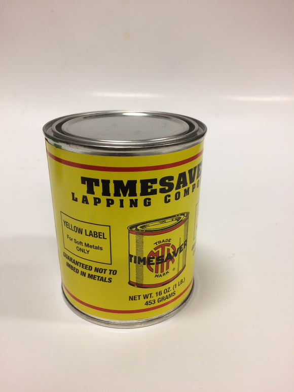 Timesaver 1 lb Yellow Label Lapping Compound