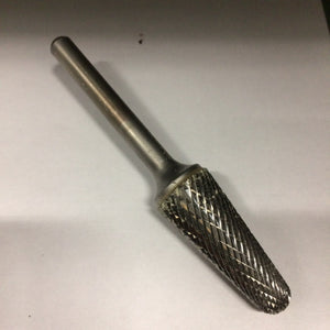Style L, 14° Included Angle, Cone Radius End, Carbide Burrs