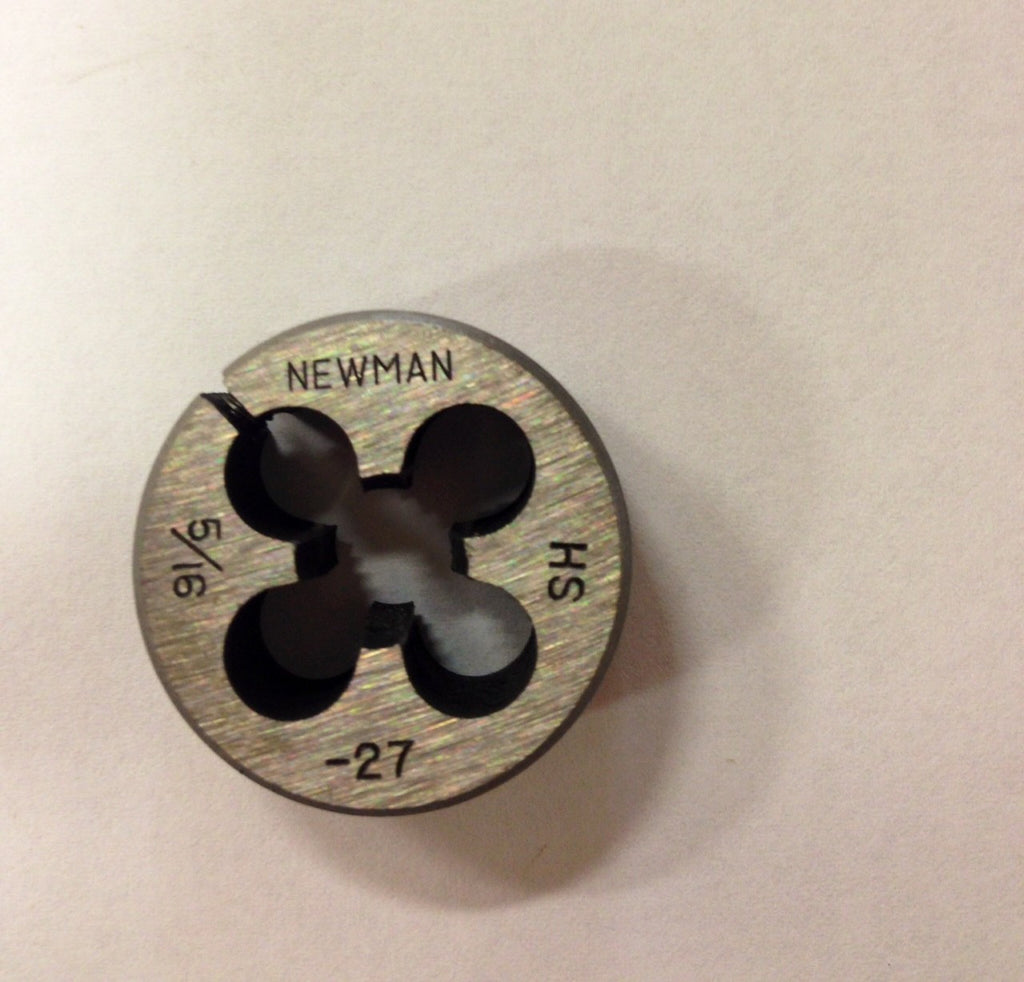 "1/8""  to 13/32""  NS Special Dies HSS, with 13/16"" or 1"" Outside Diameter"