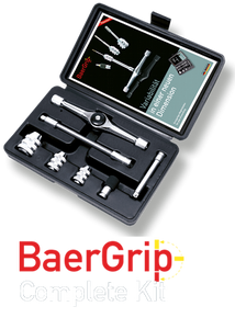 "BaerGrip 1/4"" drive Multipurpose Mini Ratchet and T-Handle Kit"