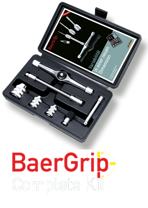 "BaerGrip 1/4"" drive multipurpose Mini Ratchet Kit"