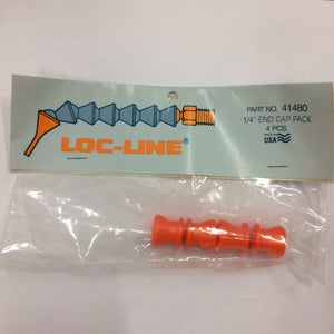 "Loc-Line 1/4"" End Caps"
