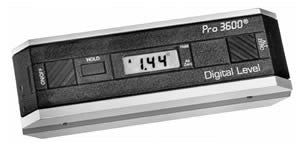 PRO 3600 DIGITAL Level, Protractor