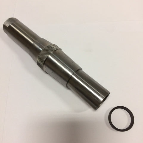 Screw-on Extension Pilots for Expanding Hand Reamers