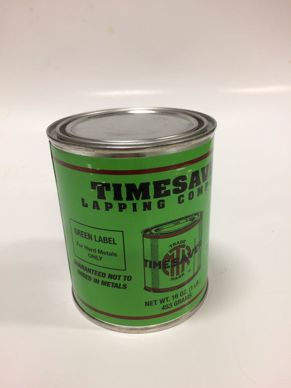 Timesaver 1 lb Green Label Lapping Compound