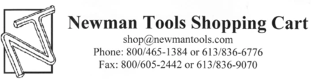 NEWMAN TOOLS SHOPPING CART