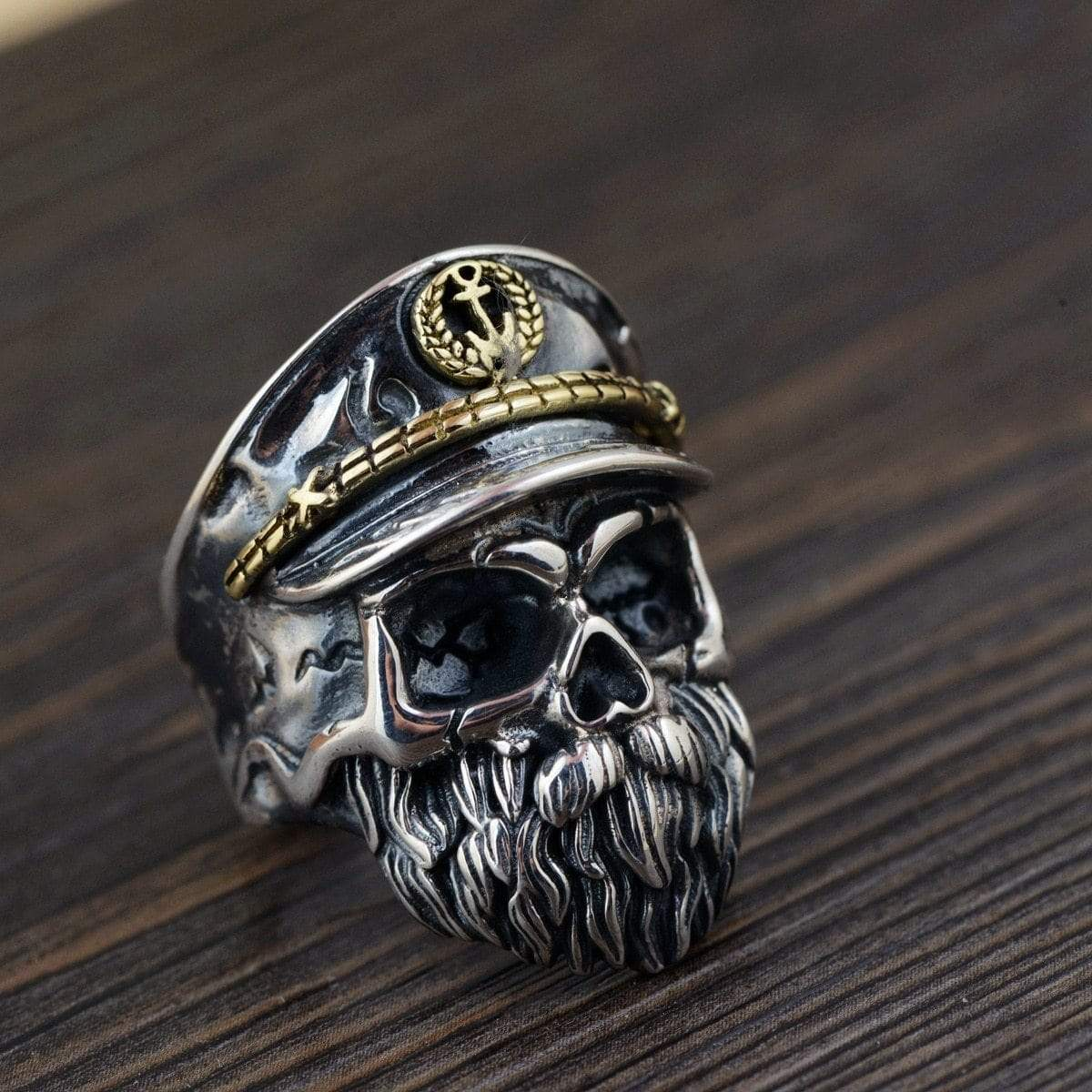925 Sterling Silver Skull Bikers Ring - Euforia Jewels