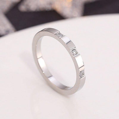 1MM Thin Titanium Steel Silver color Couple Ring Simple Fashion Rose Gold Color Finger Ring For Women and Men mens gifts