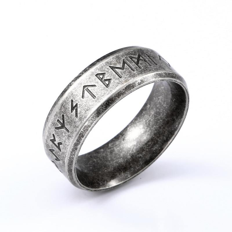 Beier 316L Stainless steel Odin Norse Viking Amulet Rune Fashion Style MEN and women fashion  words RETRO Rings Jewelry  LR-R133
