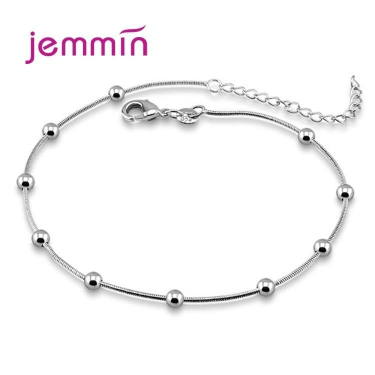 Luxury 925 Sterling Silver Chain Bracelets Adjustable Bangle For Women Charm Fine Jewelry Pulseira Gift New Arrivals 2020