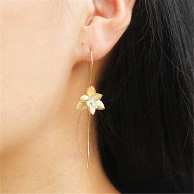 Lotus Fun Real 925 Sterling Silver Natural Creative Handmade Fine Jewelry Cute Blooming Flower Drop Earrings for Women Brincos