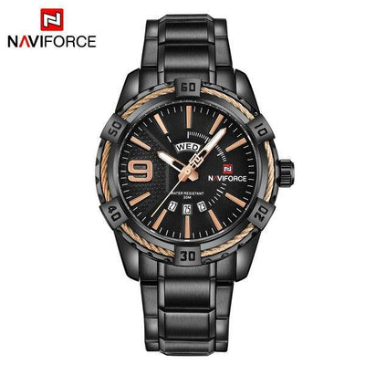 NAVIFORCE Men Watch Top Luxury Brand Man Military Sport Quartz Analog Wrist Watches Stainless SteelClock Relogio Masculino