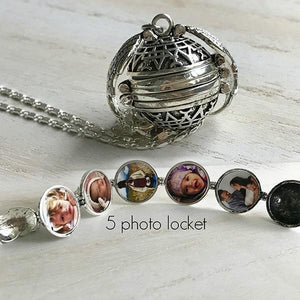 Multi-layer Photo Creative Necklace - Euforia Jewels