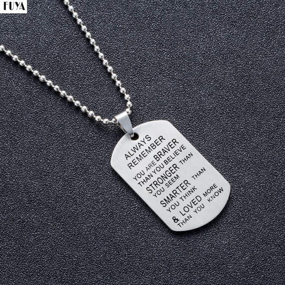 Army Pendant Necklaces for Men - Euforia Jewels