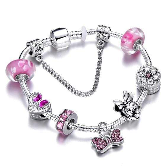 Crown Beads Charm Bracelet - Euforia Jewels