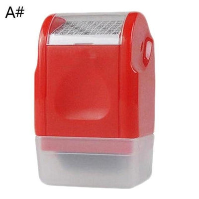 Data Protection Roller Stamp | Identity Privacy Protector Stamp - Euforia Jewels