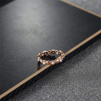 Endless Love Heart Ring - Euforia Jewels
