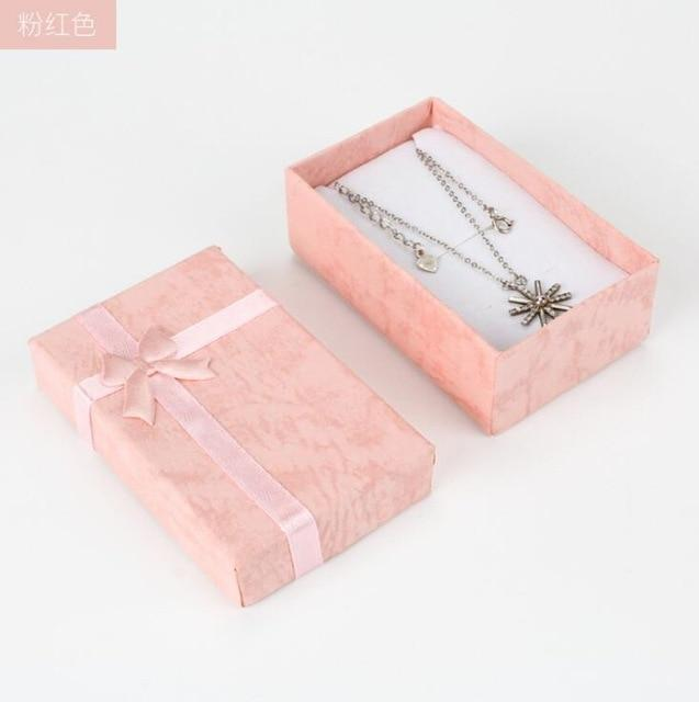 Jewelry Box Ring Stud Earrings Necklace Set Box Jewelry Gift Jewelry Packaging Tray for Women Gifts - Euforia Jewels
