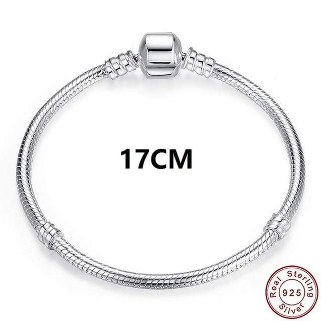 Luxury 100% 925 Sterling Silver Charm Chain Fit Original Bracelet Bangle for Women Authentic Jewelry Pulseira Gift XCHS902 - Euforia Jewels