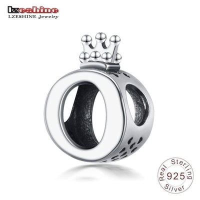LZESHINE New 925 Sterling Silver Openwork Crown Spacer Charms Bead Fit Original Pandora Charm Bracelets DIY Jewelry Accessories - Euforia Jewels