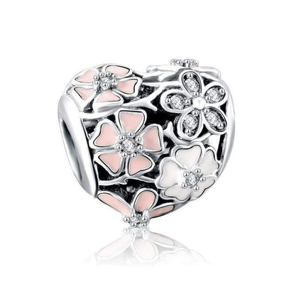 LZESHINE Real S925 Sterling Silver Shining Radiance Charms Beads Fit Original Pandora Bracelets Silver Jewelry Christmas Gift - Euforia Jewels