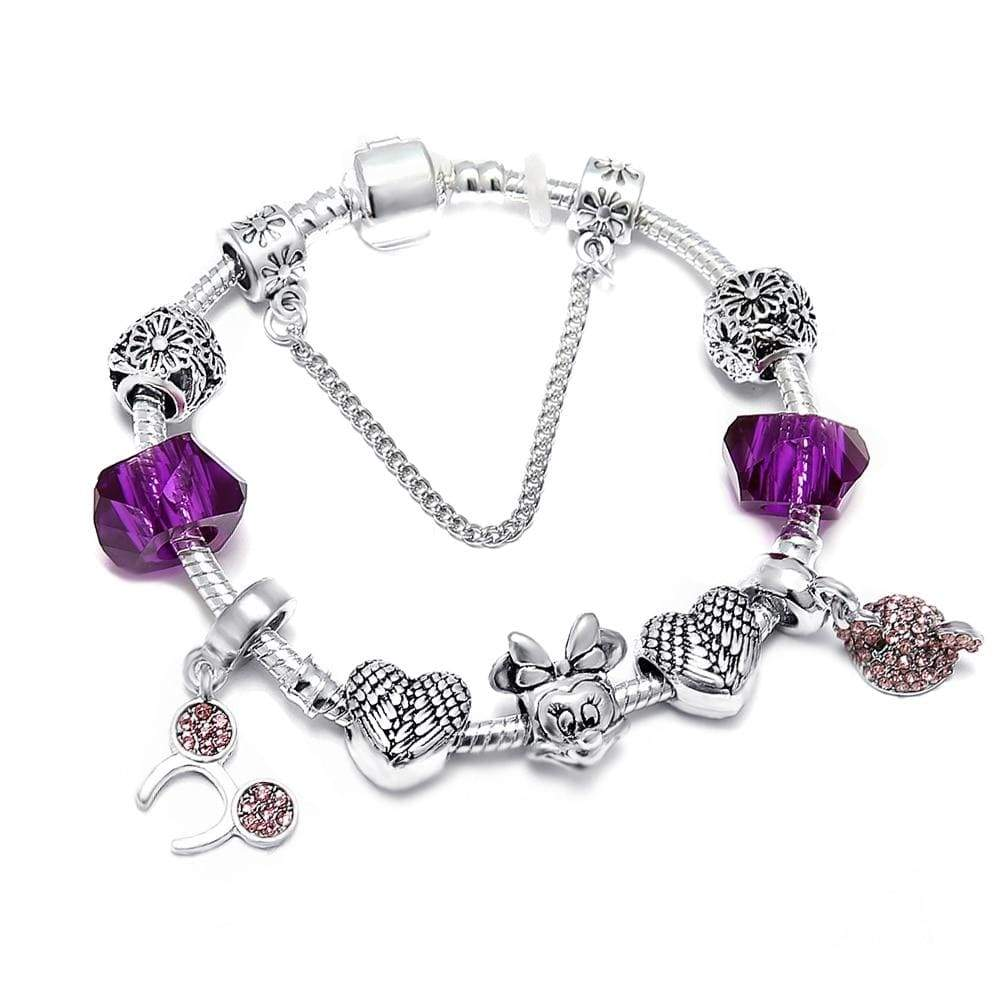 Mickey Disney Charm Bracelet - Euforia Jewels