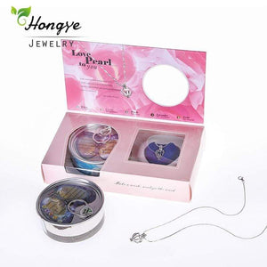 Natural Pearl Necklace Gift Pack - Euforia Jewels