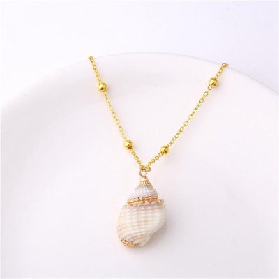 Natural Sea Shell Necklace - Euforia Jewels