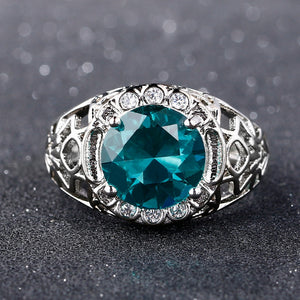 Alexandrite Gemstone Ring 925 Sterling Silver - Euforia Jewels