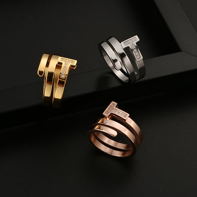 Tiffany Style Ring - Euforia Jewels