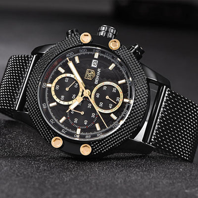 Sports Chronograph Waterproof Watch - Euforia Jewels