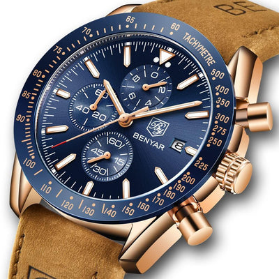 Luxury Silicon Strap Chronograph Watch - Euforia Jewels