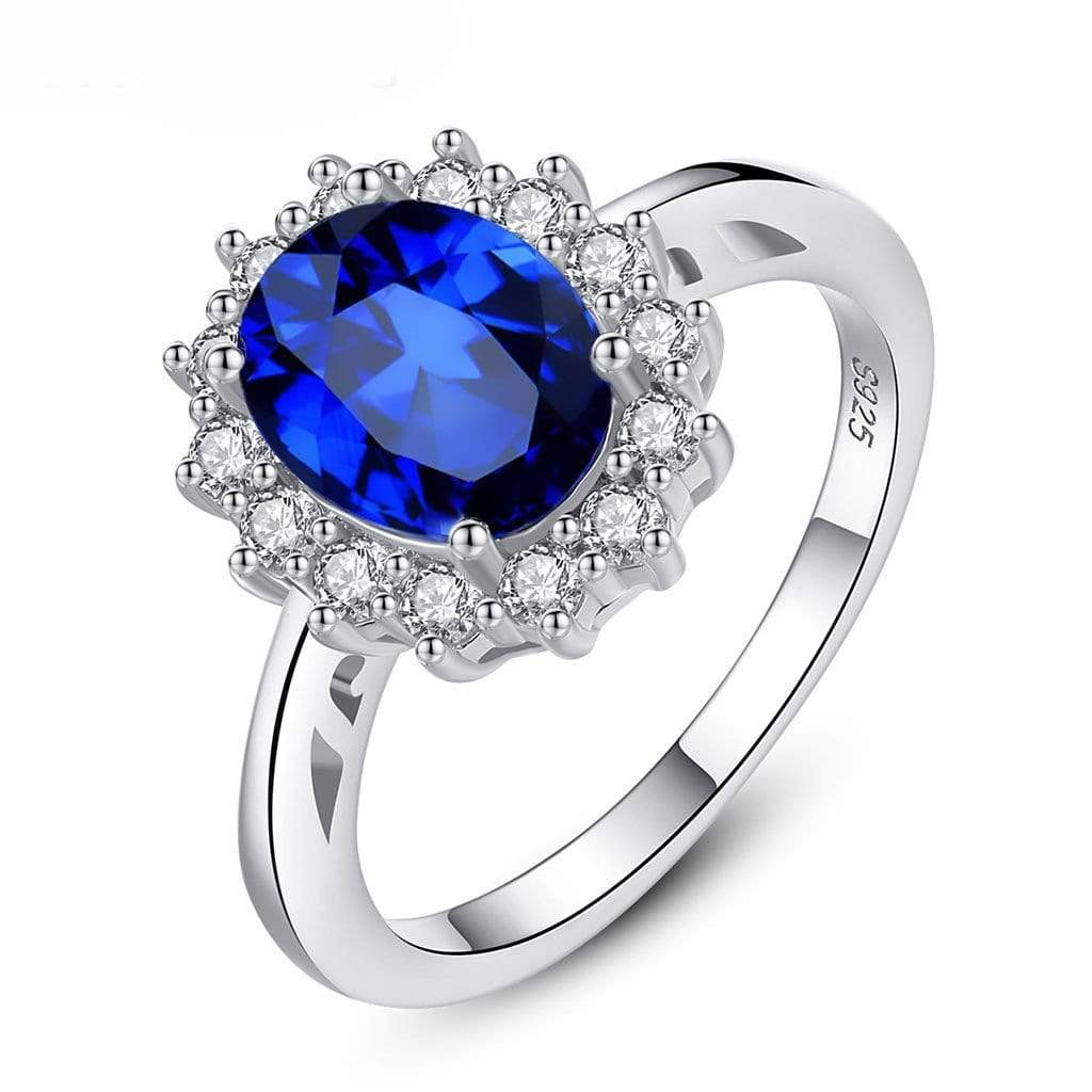 Blue Zircon Ring - Euforia Jewels