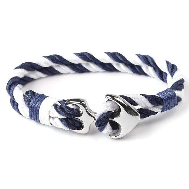 Stainless Steel Anchor Rope Bracelets - Euforia Jewels