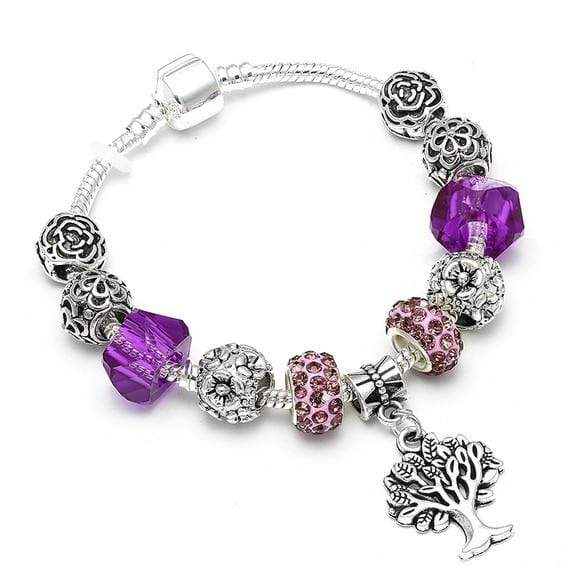 Tree of Life Vintage Charm Bracelets - Euforia Jewels