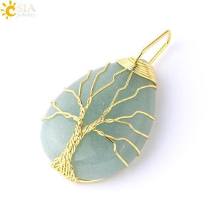Tree of Life - Water Drop Necklace - Euforia Jewels