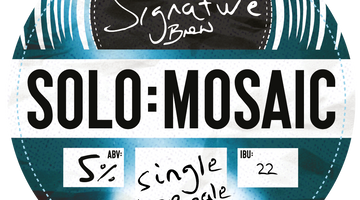 NEW BEER! Solo : Mosaic