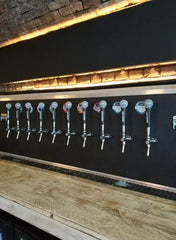 Signature Brew Taproom & Venue, Microphone Tap Handles By Shure