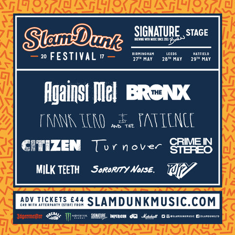 Signature Brew stage Slam Dunk 2017